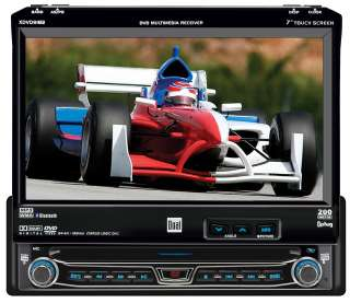 Dual Electronics XDVD8183N 7 Car DVD Player Touch Screen, Bluetooth