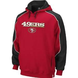 San Francisco 49ers Mens Arena Hooded Sweatshirt