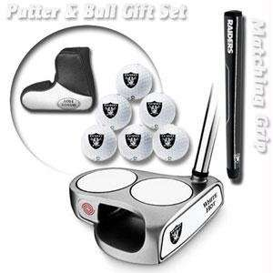 Oakland Raiders NFL Team Logod Golf Balls (6) and White