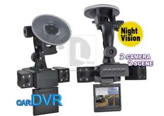 270° 8 Infrared Night Vision Light Car Vehicle DVR Recorder Dual