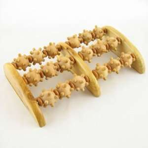 6 Roller Wooden Foot Massager