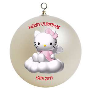 Personalized Hello Kitty Christmas Ornament Gift