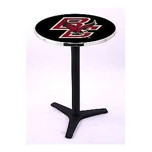 Boston College Eagles HBS Pub Table with Black Wrinkle
