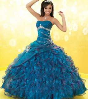 Quinceanera dress Prom ball gowns bridal dress all size 2012