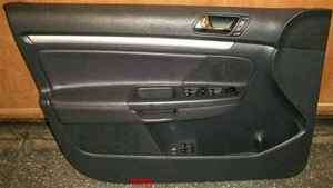 05 06 Jetta Drivers Door Trim Panel Leather OEM LKQ