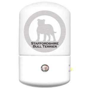 Staffordshire Bull Terrier LED Night Light
