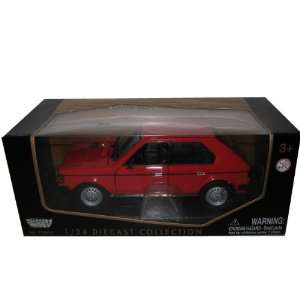 1985 Dodge Omni GLH 124 Red Diecast Car Model Toys