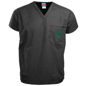 NCAA Michigan State Spartans Black Scrub Top Sports