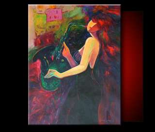 Abstract Figure 30x40 ART Modern Oil Painting A1880