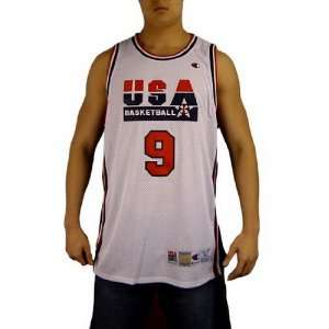 Mens USA Michael Jordan Dream Team Jersey   Size 52