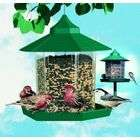 Woodstream Wildbird Gazebo Wild Bird Feeder Green 2.25 Pounds   HF92