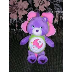 Care Bears Plush 10 Sweet Dreams Bear in Flower Outfit Toys & Games