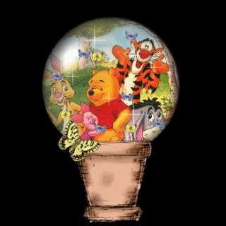 You Can Click on the Pooh globe to contact me