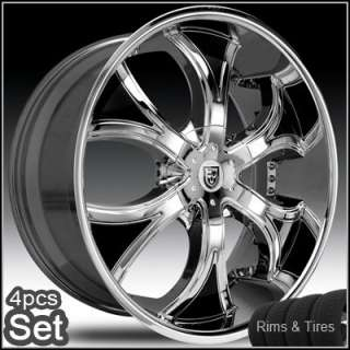 26 Rims and Tires Wheels Chevy Ford Lexani Escalade