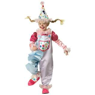 In Character Costumes Cutie Clown Toddler Costume 2T