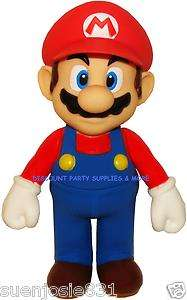 Super Mario Bros Mario Figurine Collection Cake Topper Toy Action
