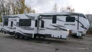 2012 RAPTOR 3912LEV VELOCITY TOY HAULER BATH & 1/2 (FACTORY DIRECT