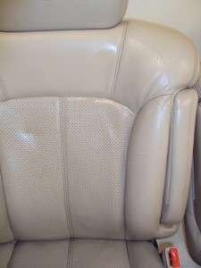 Cadillac Escalade Tahoe Yukon Suburban Tan Shale Leather Front Seats