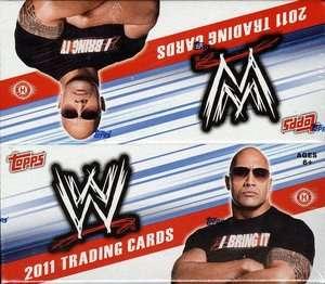 2011 Topps WWE Complete 113 Card Trading Card Set Mint
