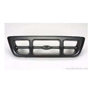 FORD TRUCK RANGER Grille assy 4WD; XL; black 1998 1999 2000