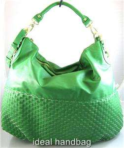 NWT STEVE MADDEN GREEN HOBO BAG PURSE