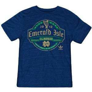 NCAA Notre Dame Fighting Irish Mens Emerald Isle Classic Dublin Game