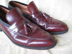 Allen Edmonds BISCAYNE Tassel Loafer Dress Shoes Sz 13
