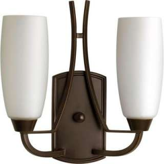 Progress Lighting Wisten Collection Antique Bronze 2 Light Wall