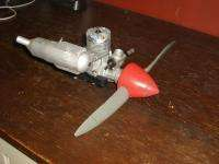 Max 46 SF RC Engine W/ Muffler, Prop, Cone & Mount