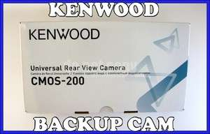 KENWOOD CMOS200 UNIVERSAL REARVIEW CAR VEHICLE BACKUP CAMERA CMOS 200