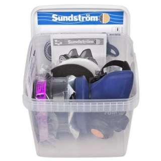 Sundstrom Safety Pro Pack   Half Mask Respirator Kit for Painting and