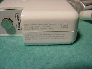 ORIGINAL 65W APPLE AC Adapter A1021 G4 iBook PowerBook