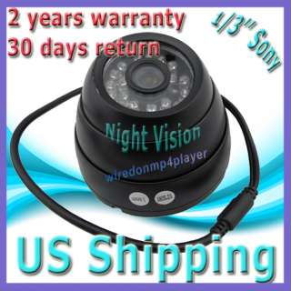 Outdoor Home Security Spy Camera 30LED IR Night Vision Audio Video