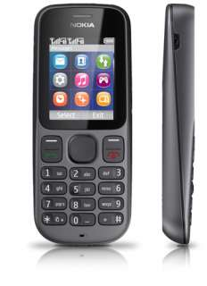 Nokia 101 Dual SIM Music Phone   Phantom Black 6438158392182