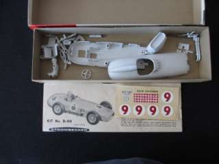Vintage1959 Strombecker   Becker Mercedes Benz Racing Car Model Car 1