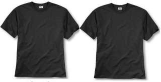 New 4 X Gildan Heavy Cotton T Shirts Black XXLarge