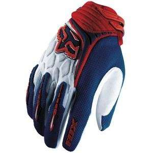 Fox Racing Youth Blitz Gloves   2007   Small/Red