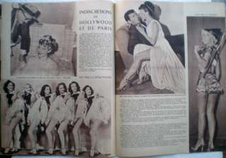 56/1950 PARIS HOLLYWOOD sexy Paulette Goddard J.Paige