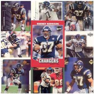 Various Brands New England Patriots Rodney Harrison 20 Card Set