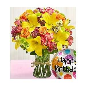 Flowers by 1800Flowers   Fields of Europe Happy Birthday   Large