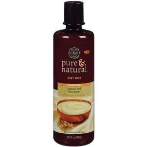 Pure & Natural Soothing Oatmeal & Shea Butter Body Wash 12.8 oz. (Pack
