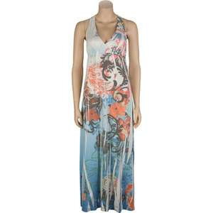 women  Clothing  Dresses  sam & max sublimation maxi