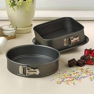 Puck Non   Stick Set of Two Baking Pans