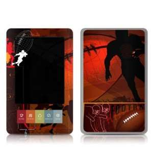 Pigskin Design Protective Decal Skin Sticker for Barnes and Noble NOOK