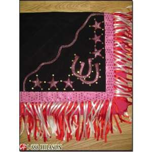 Western Show Barrel Racing Rodeo Saddle Blanket Pad 295