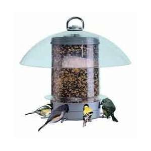 K Feeders Grey Super Carousel Bird Feeder Patio, Lawn