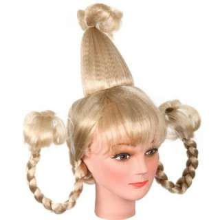 Whoville Girl Halloween Costume Wig Clothing