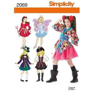 Simplicity Sewing Pattern 2069 Girls Costumes, A (7 8 10