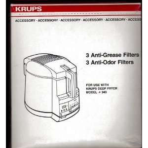 ODOR FILTERS (FOR USE WITH DEEP FRYER MODEL #349)