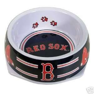 MLB Boston Red Sox Dog Bowl Feeder Small 3 Cup